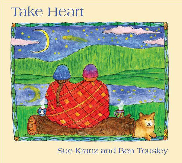 Take Heart CD cover Ben Touysley/Sue Kranz